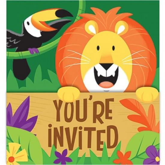 """Jungle Safari"" Προσκλήσεις"