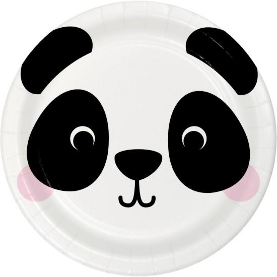 """Panda"" Πιάτο Φαγητού Πάντα"