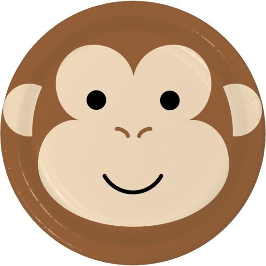 """""""Monkey"""" Πιάτο Φαγητού Μαιμού"""