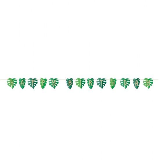 """""""Palm Leaves"""" Γιρλάντα Γράμματα"""