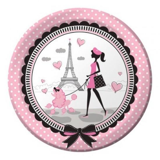 """Party in Paris"" Πιάτο Φαγητού"