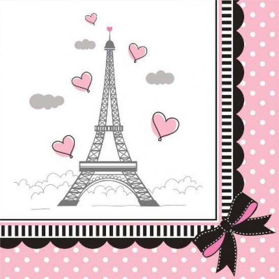 """""""Party in Paris"""" Χαρτοπετσέτα Γλυκού"""