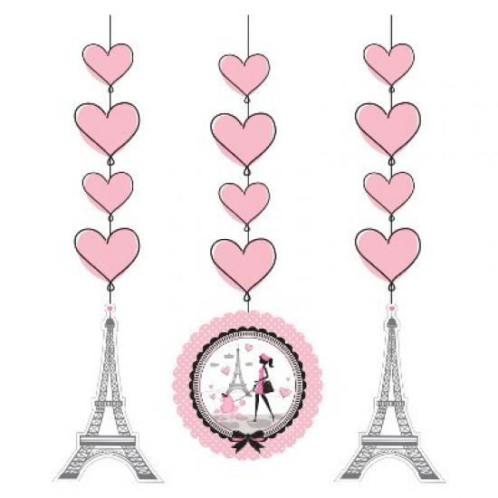 """Party in Paris"" Διακοσμητικά Κρεμαστά"