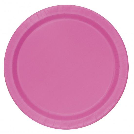 """""""Hot Pink"""" Πιάτο Γλυκού"""