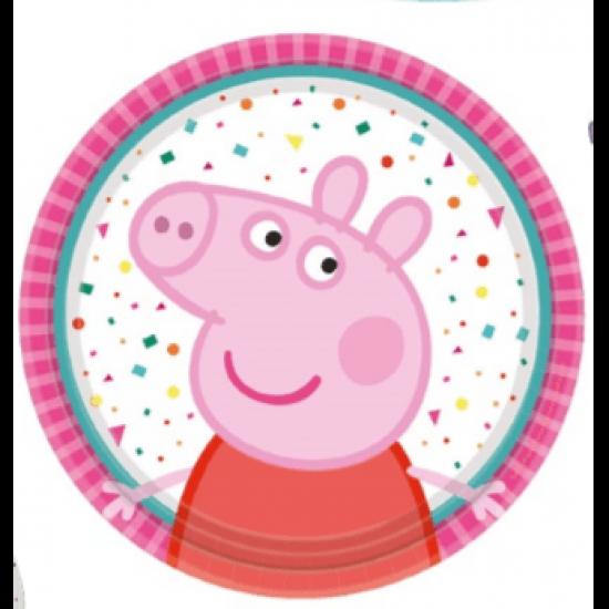 """""""Peppa Pig"""" Πιάτο Γλυκού"""