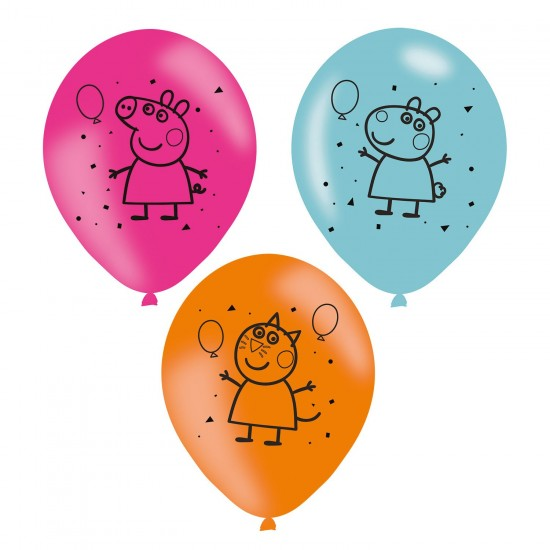 """Peppa Pig"" Μπαλόνια λάτεξ"