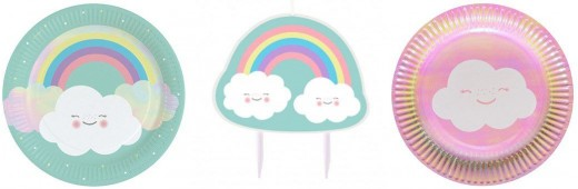 Rainbow and Cloud Party