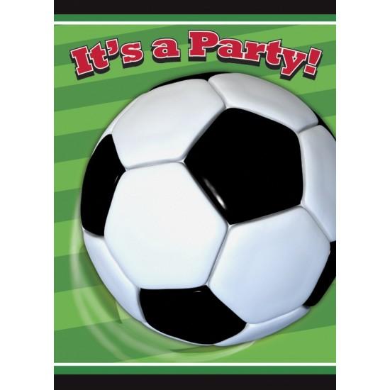 """Soccer Ball"" Προσκλήσεις"