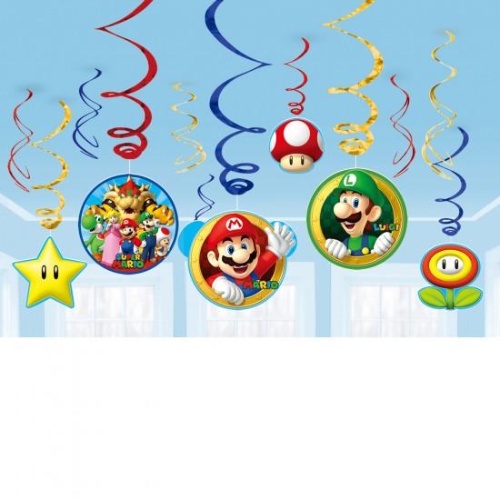 """""""Super Mario Bros"""" Κρεμαστά Διακοσμητικά"""
