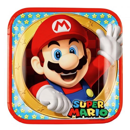 """Super Mario Bros"" Πιάτο Φαγητού"