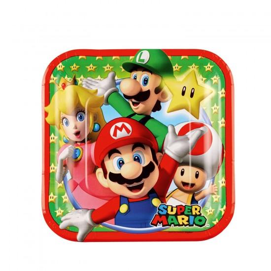 """""""Super Mario Bros"""" Πιάτο Γλυκού"""