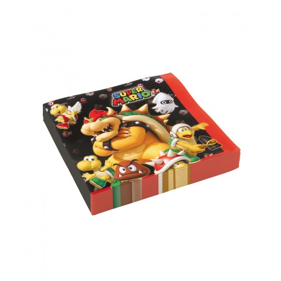 """Super Mario Bros"" Χαρτοπετσέτα"