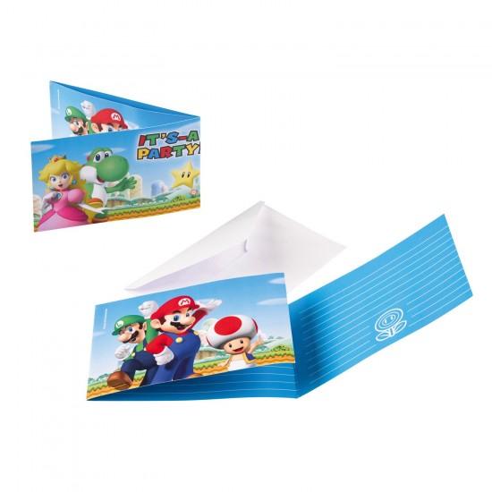 """Super Mario Bros"" Προσκλήσεις"