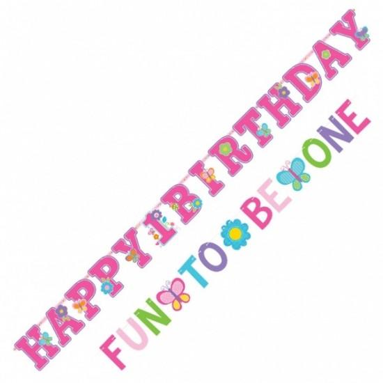 """Sweet Birthday Girl"" Γιρλάντα Γράμματα"