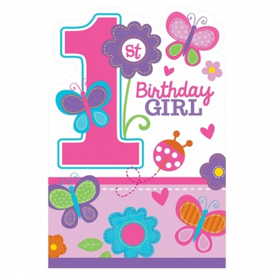 """Sweet Birthday Girl"" Προσκλήσεις"