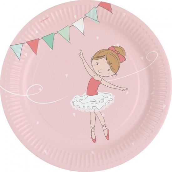"""Little Dancer"" Πιάτο Φαγητού"