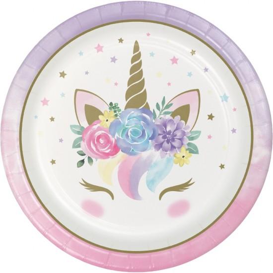 """Unicorn Baby"" Πιάτο φαγητού"