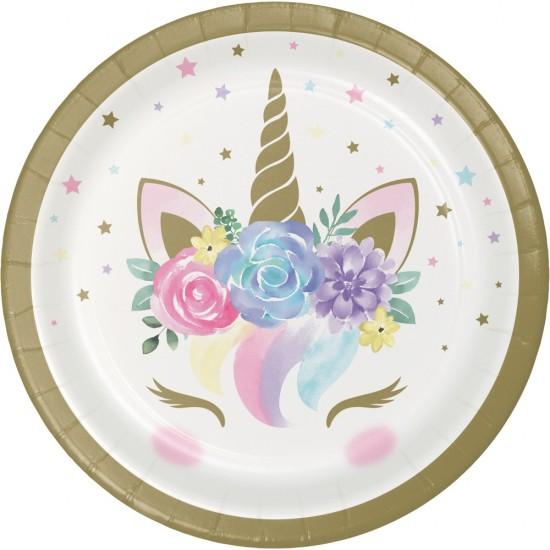 """Unicorn Baby"" Πιάτο γλυκού"
