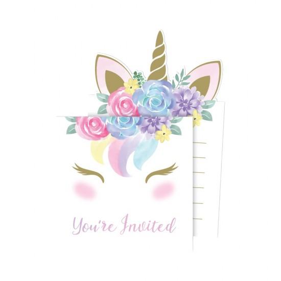 """Unicorn Baby"" Προσκλήσεις"
