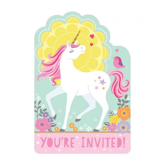 """""""Magical Unicorn"""" Προσκλήσεις"""