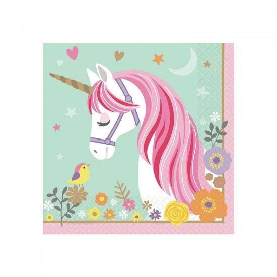"""Magical Unicorn"" Χαρτοπετσέτα Φαγητού"