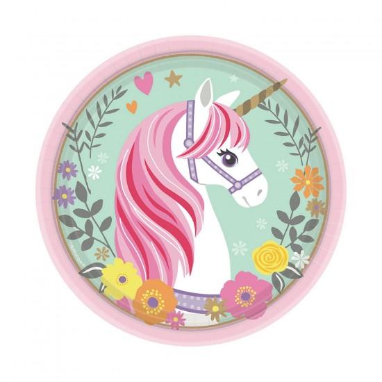 """""""Magical Unicorn"""" Πιάτο Γλυκού"""