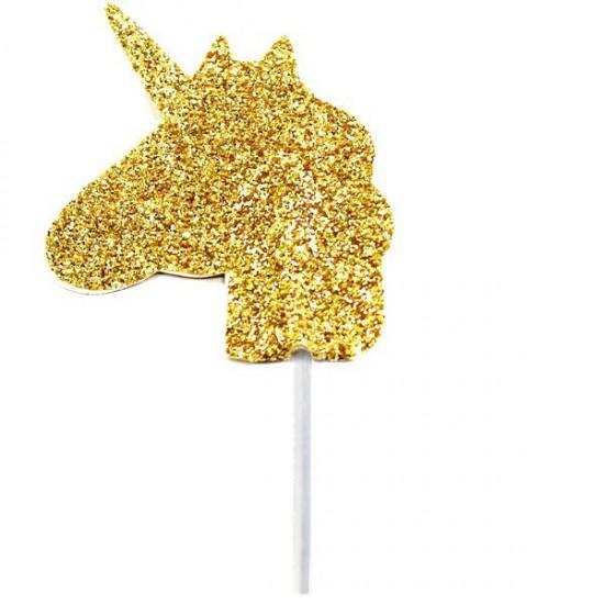 """""""Unicorn"""" Διακοσμητικό για κεκάκια"""
