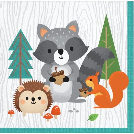 """Wild One Woodland Animals"" Πετσέτα Γλυκού"