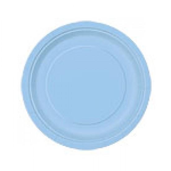 """Powder Blue"" Πιάτο Γλυκού"
