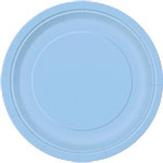 """""""Powder Blue"""" Πιάτο Φαγητού"""