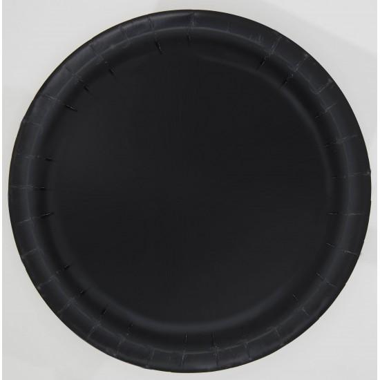 """""""Black"""" Πιάτο φαγητού"""