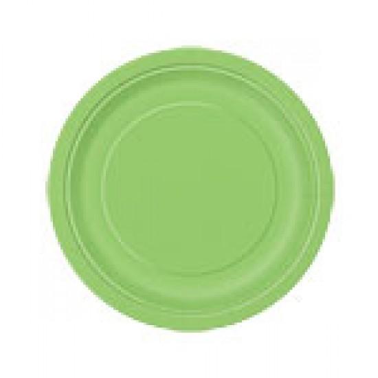 """Lime Green"" Πιάτο Γλυκού"