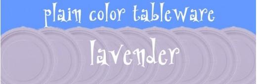 """Paper tableware"" Lavender"