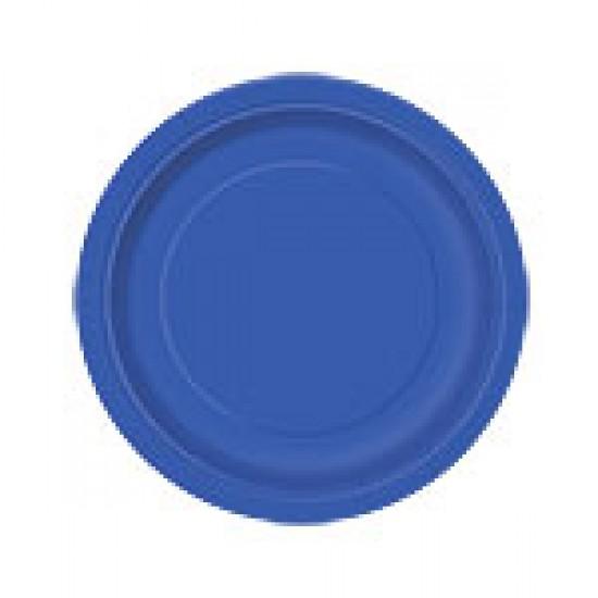 """""""Royal Blue"""" Πιάτο Γλυκού"""