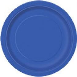 """Royal Blue"" Πιάτο Φαγητού"